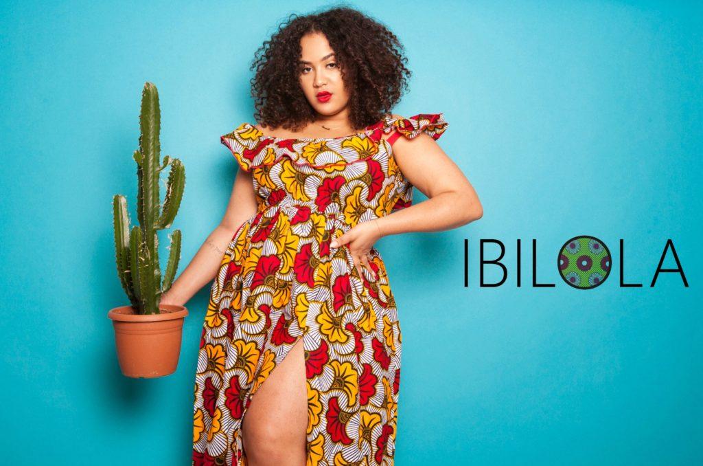 Ibilola est le modèle de jupe patineuse en Wax issue de ma ligne de  vêtements. Je vous raconte son histoire par ici.