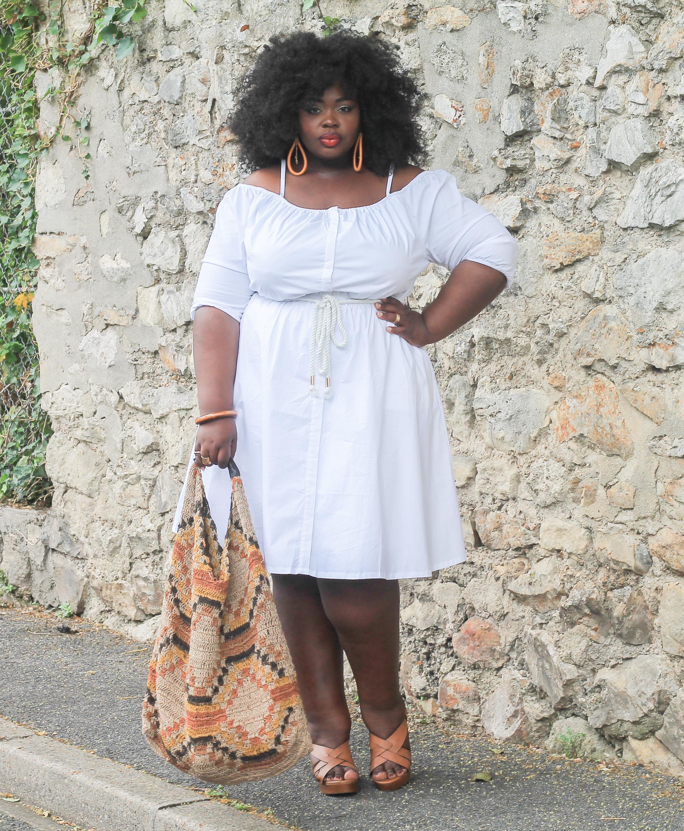 robe-blanche-grande-taille