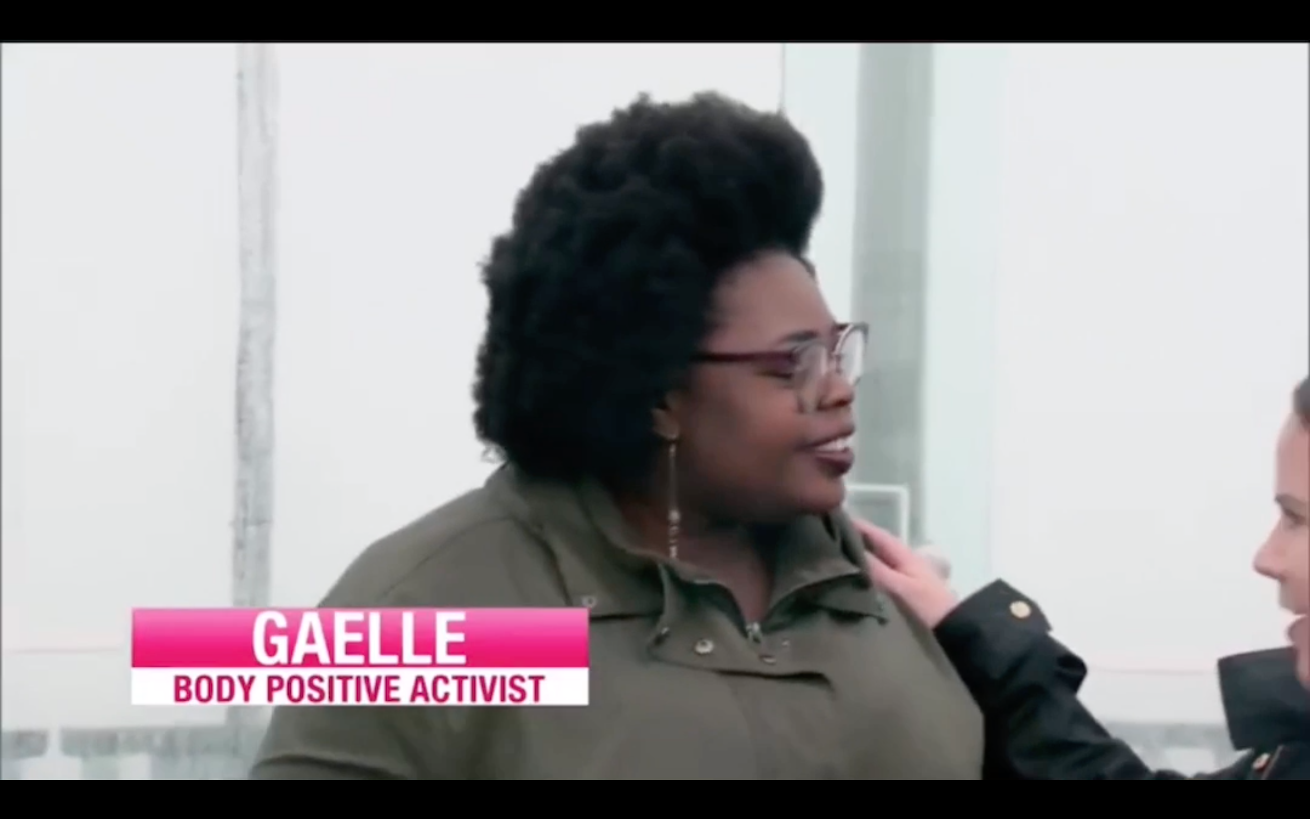 Mon passage dans l'émission américaine «My big fat fabulous life»