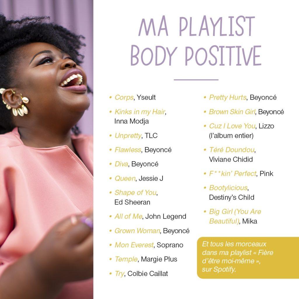 Ma playlist body positive